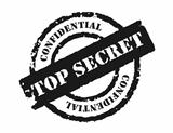 Stamp &#39;Top Secret&#39;