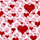 Seamless valentine pattern