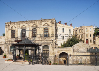 architecture in baku azerbaijan