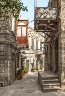 architecture in baku azerbaijan