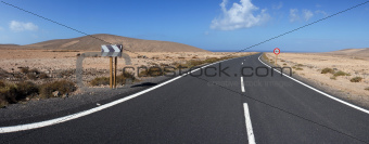 Road to Los Molinos, Fuerteventura, Canary Islands