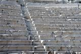 Rows of Ancient Theater in Plovdiv