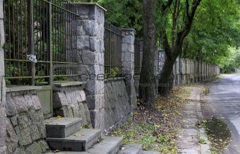 Old street at Vilnius