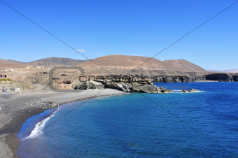 Caleta Negra in Fuerteventura, Spain