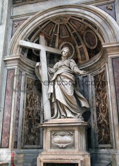 Saint Helena statue. Vatican