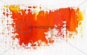Acrylic strokes