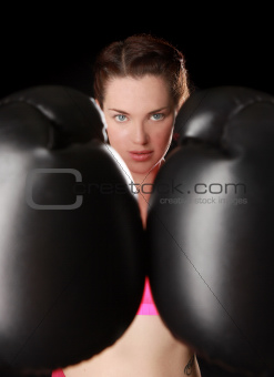 Female With Boxing Gear