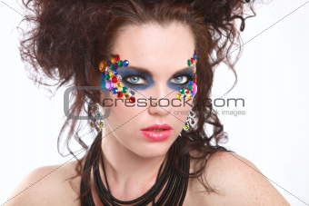 Extreme High Fashion Conceptual Beauty Image