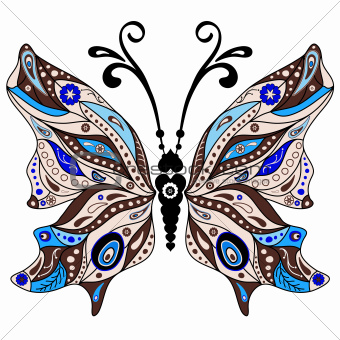 Decorative fantasy butterfly