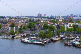 Amsterdam city, the Netherlands