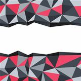 Abstract triangle background with space for text. Vector