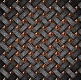 Wood and Metal Old Background