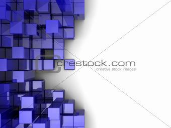 Violet cubes