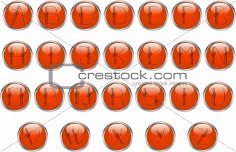 Alphabet buttons
