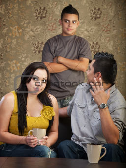 Disprespectful Teen with Parents