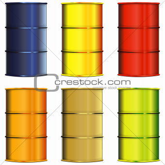 Set of barrels