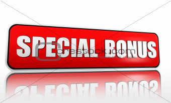 special bonus banner