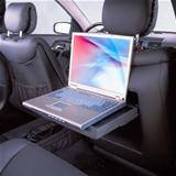 car and laptop