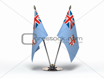 Miniature Flag of Fiji (Isolated)