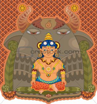Girl India Goddess