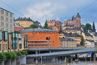 Stockholm. Sodermalm district