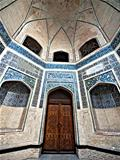 Wall and door in Bukhara.