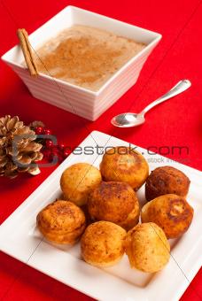 Christmas bunuelos