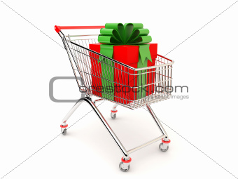 Gift in the cart