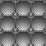 Tiled metal background (seamless).