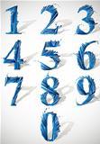 Numbers set.