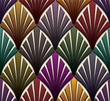 Vintage seamless pattern.