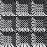 3d geometric architectural seamless pattern.