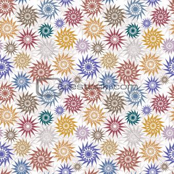 Native style ornamental stars.