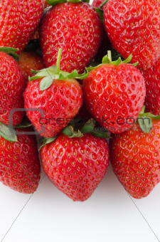 Appetizing strawberries