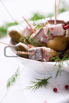 Herring snack