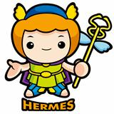 The god of strangers, Hermes