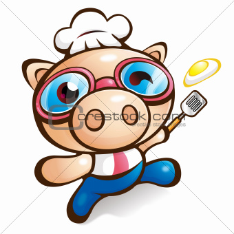 Exciting Rhythm of Chef Pig