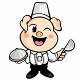 The Best Pig chef's Smile