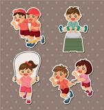 student sport game stickers