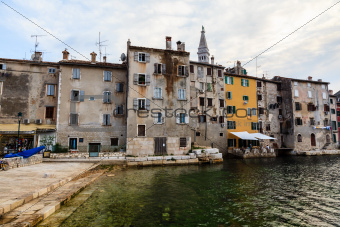 Old City of Rovinj at Dusk, Croatia