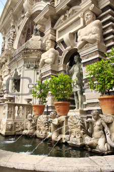 Fountain dell'organo in Gardens of Villa d'Este
