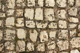Ancient paving stone