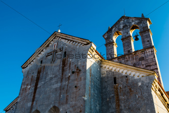 Church of Saint Francis in Pula, Croatia