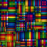Colorful textile seamless pattern.