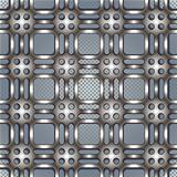 Metal netting texture beautiful pattern.