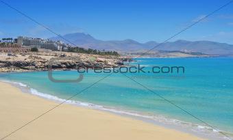 Playa Esmeralda in Fuerteventura, Canary Islands, Spain