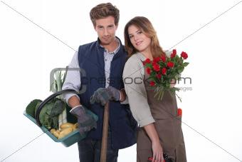 Gardener and florist