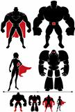 Superhero Silhouette