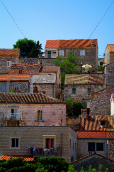 Old town Hvar Croatia