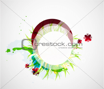 Abstract beautiful flower background